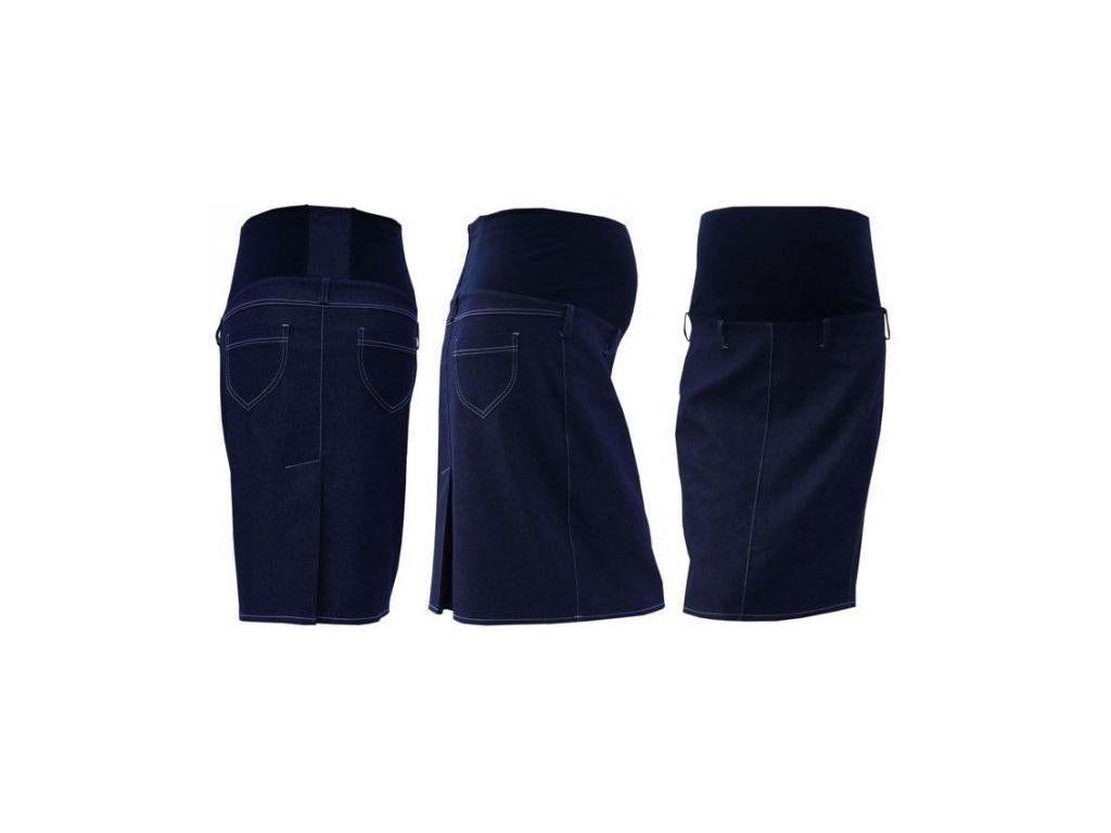 Těhotenská sukně jeans SOMI - jeans 2020