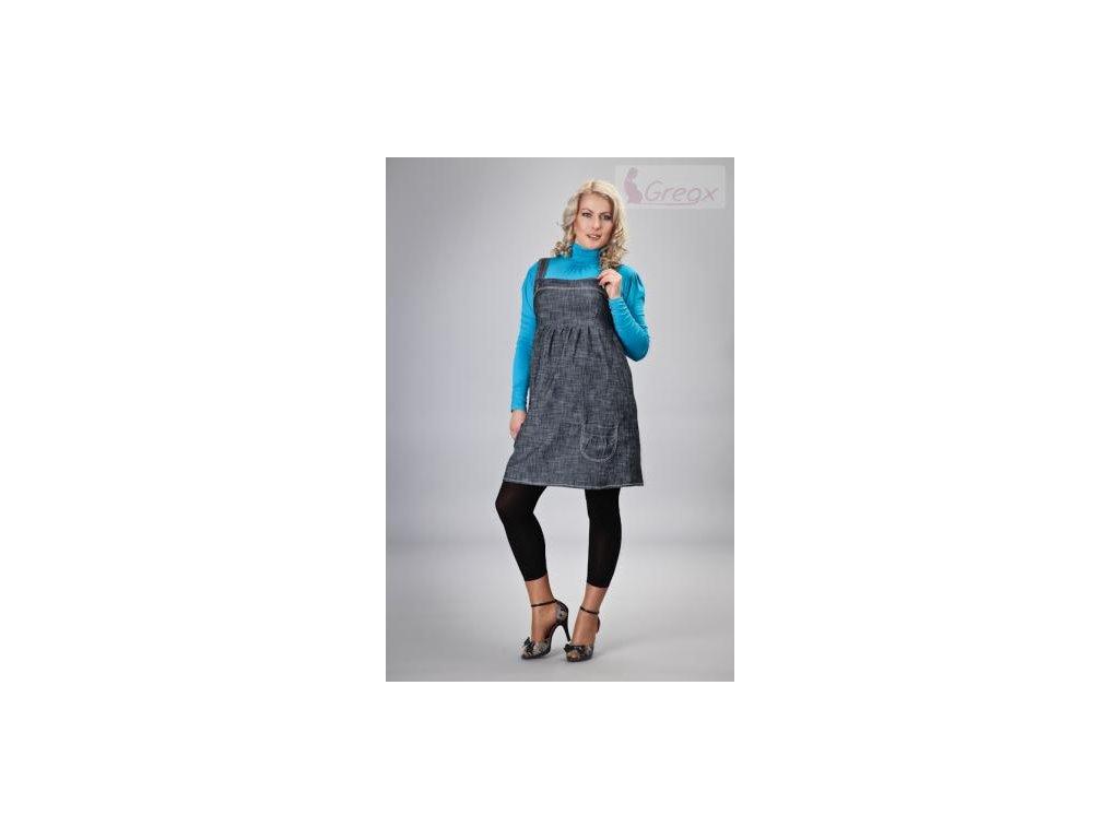 Elegantní šaty - granátový melírek 2021