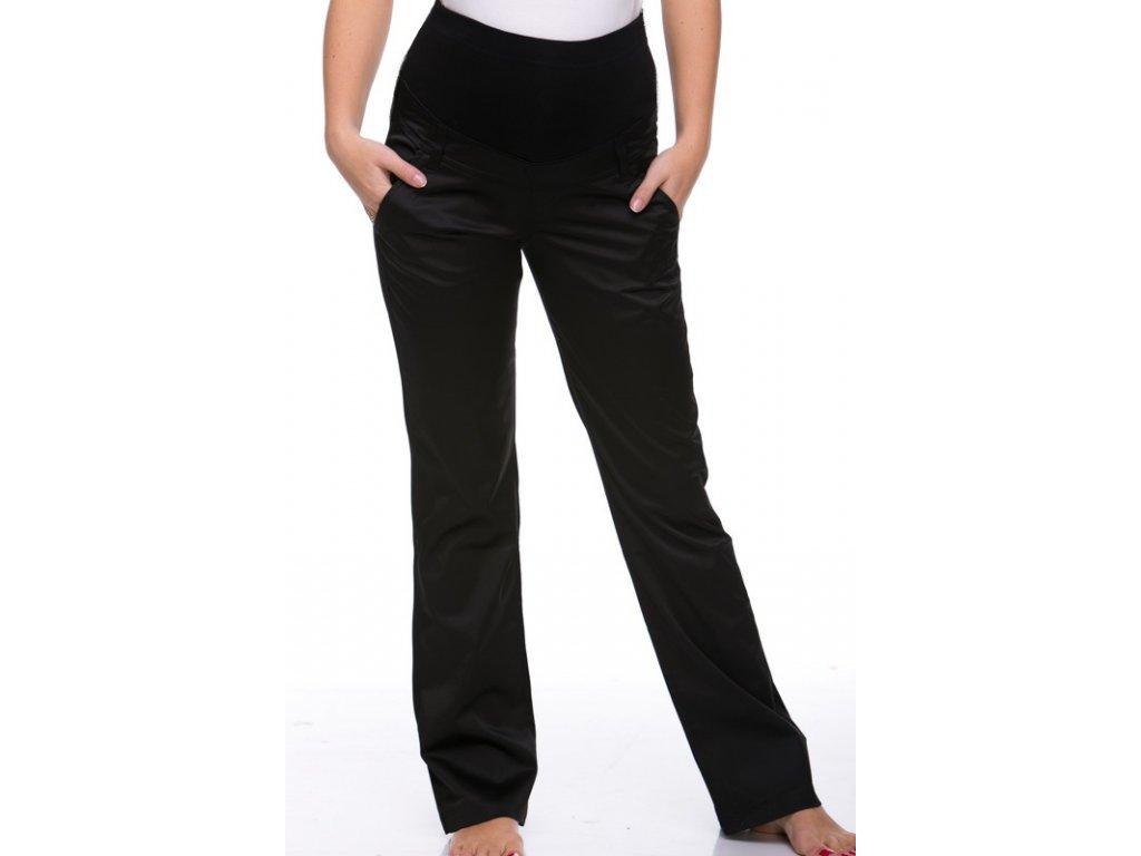 Elegantní těhotenské kalhoty JEANS - bílá 2021