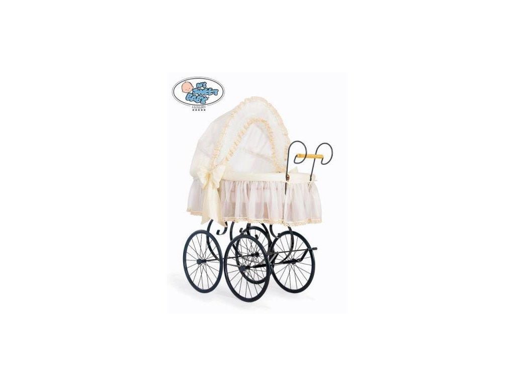 Luxusní RETRO koš na miminko MY SWEET BABY - DOMÁCÍ KOČÁREK > varianta 2100-171 2021