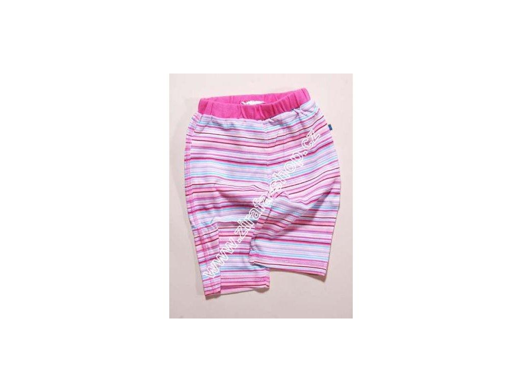 Kalhoty kojenecké PIDILIDI PD0179-03 růžová 2018