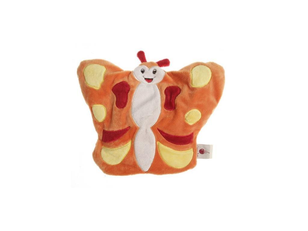 Hřejivý plyšák pro miminka motýlek