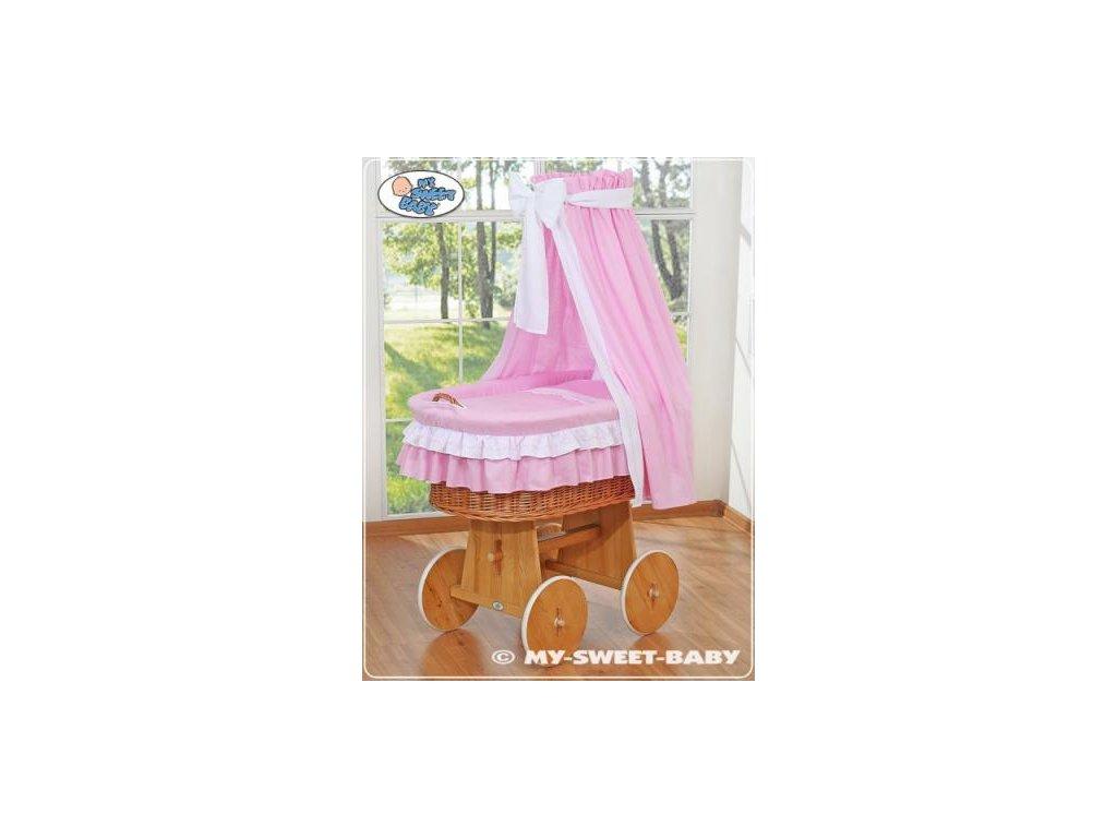 Proutěný koš na miminko My Sweet Baby - DOMÁCÍ LUXUSNÍ KOČÁREK > varianta 59582-119 2021