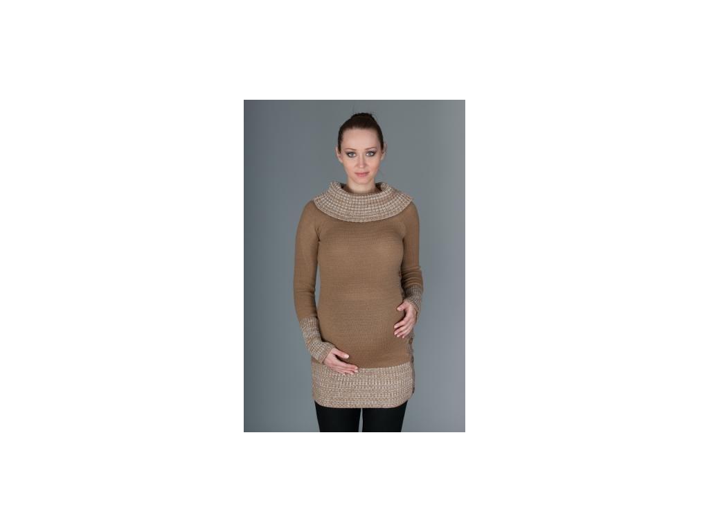 Těhotenský svetřík/tunika Carmen 2020