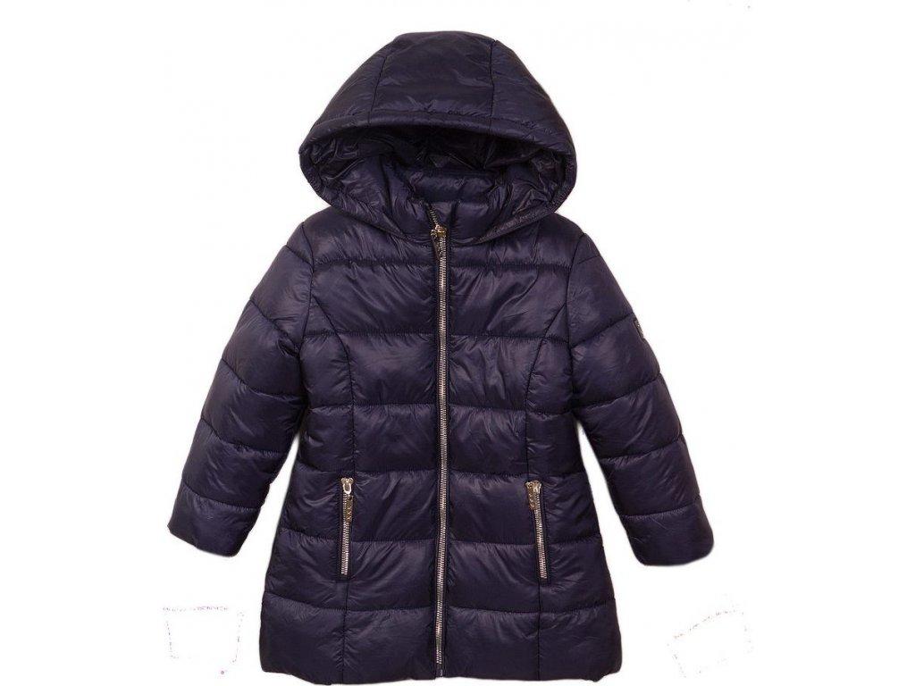 Kabát dívčí prošívaný Puffa, Minoti, JW2124, modrá