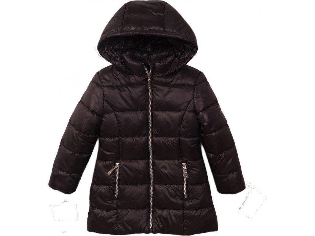 Kabát dívčí prošívaný Puffa, Minoti, JW2125, černá