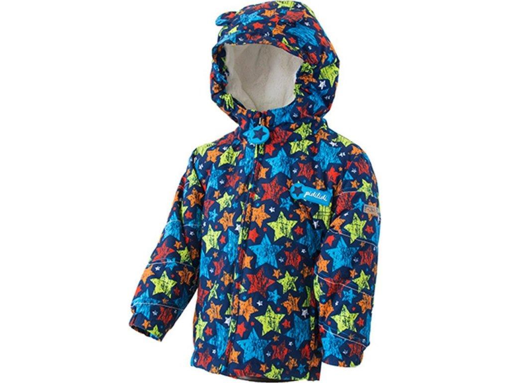 bunda zimní chlapecká s kožíškem, Pidilidi, PD1081-02, Kluk