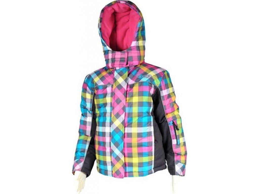 bunda dívčí zimní, Bugga, PD899, růžová