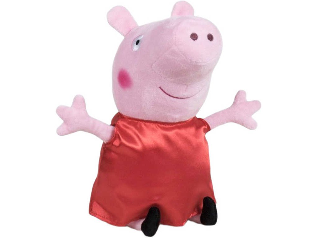 PLYŠ Prasátko Pepina 31cm (Peppa Pig) PLYŠOVÉ HRAČKY*