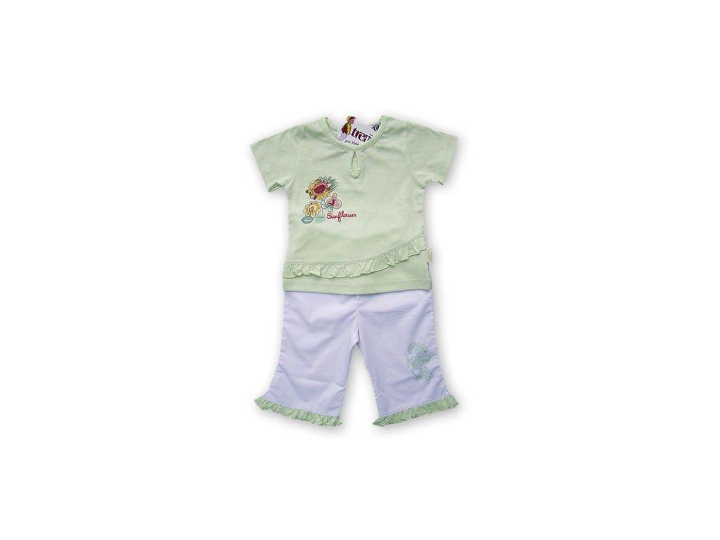 Letní komplet kalhot a trička s krátkým rukávem Tulec Trend 2020