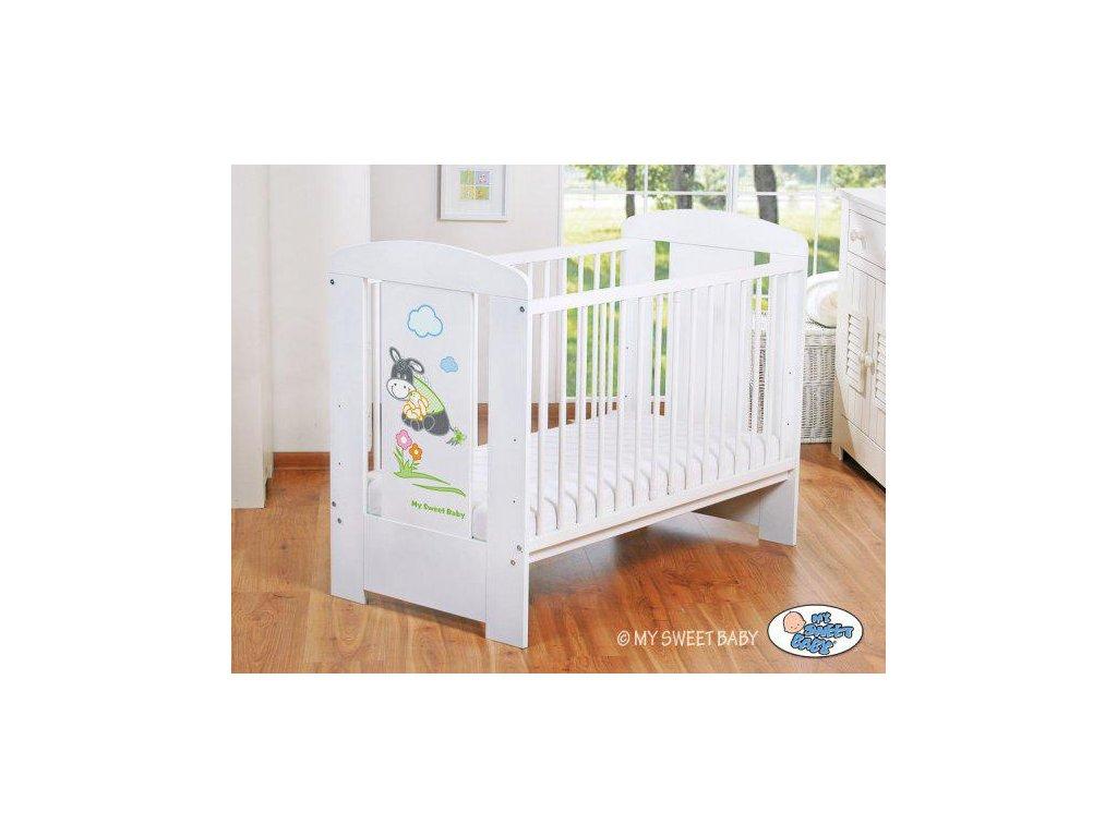 Dětské postýlky My Sweet baby - OSLÍK LUKY > varianta 816 zelená 2022