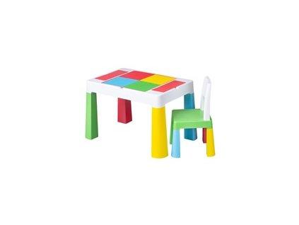 Dětská sada stoleček a židlička  (Plastový nábytek)