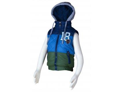 Dětská vesta s kapucí PIDILIDI PD1001-02 2019