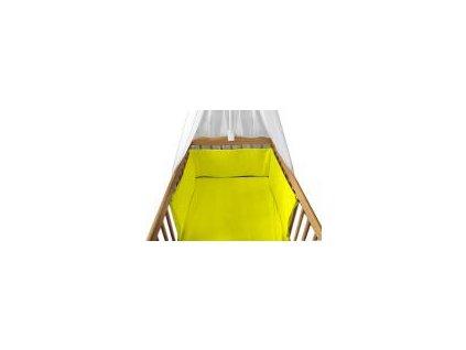 Povlečení do postýlky BABY-TEX 120/90cm žlutá 2021