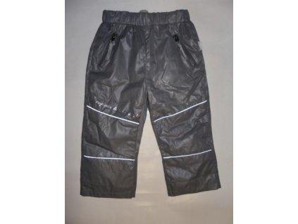 Jarní šusťákové kalhoty Tulec trend šedá 2020