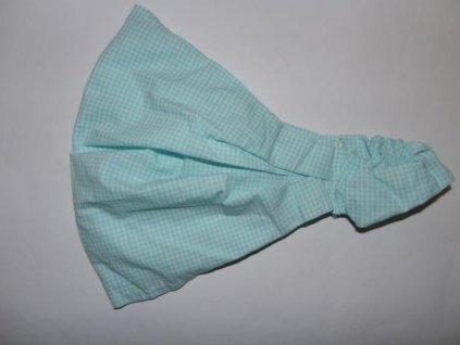Dívčí šátek Pico modré kostičky 2020