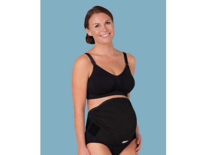 Carriwell Těhotenský podpůrný pás přes bříško - nastavitelný - černý 2020