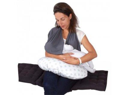 Šátek na kojení šedý CANDIDE 2020