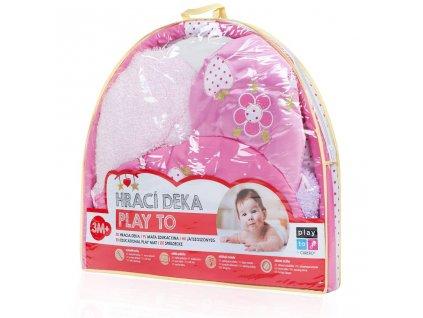 Hrací deka PlayTo stonožka s hračkou 31617 2020