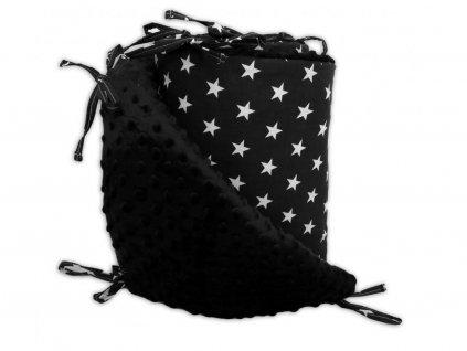 Mantinel do postýlky BABY-TEX 180cm hvězda tyrkys 2021