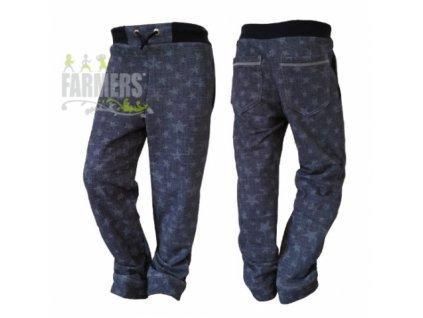 Dětské kalhoty FARMERS WOW JEANS STAR 2020