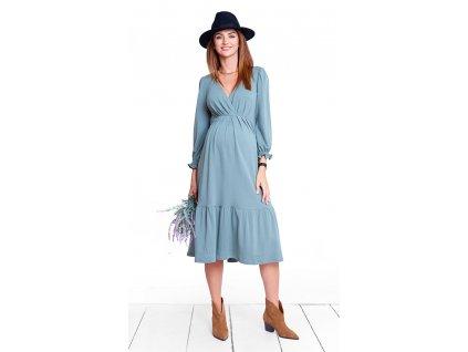 Těhotenské šaty Happymum Glossie dress 2018