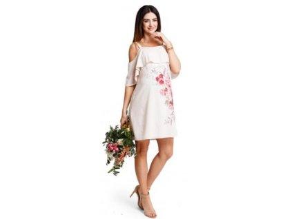 Těhotenské šaty Happymum Secret dress 2018