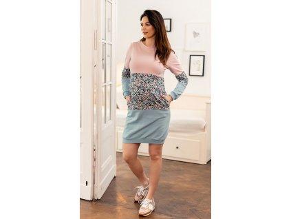 Těhotenská sukně Happymum City long skirt 2018
