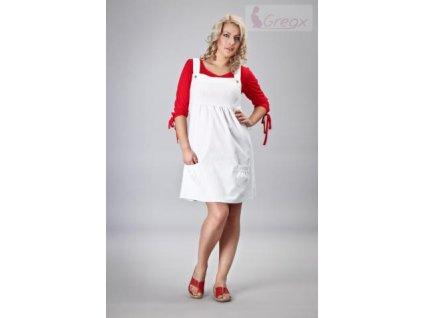 Elegantní šaty - bílá 2020