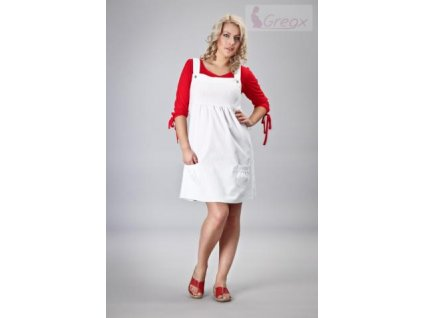 Elegantní šaty - bílá 2021