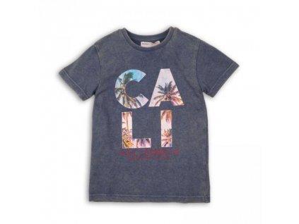 Tričko chlapecké s krátkým rukávem Minoti BLUES 2, MT1544-04 modrá 2020