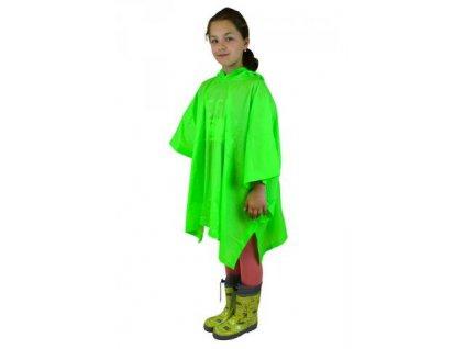 Pidilidi poncho PVC neonová pláštěnka PL0066-19 zelená 2020