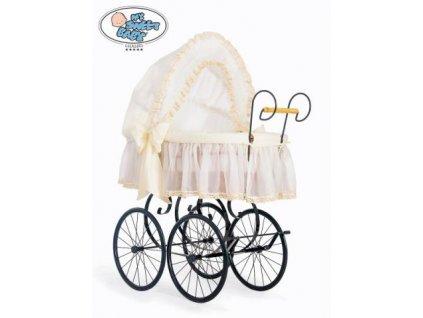 Luxusní RETRO koš na miminko MY SWEET BABY - DOMÁCÍ KOČÁREK > varianta 2100-171 2019