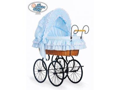 Luxusní RETRO koš na miminko MY SWEET BABY - DOMÁCÍ KOČÁREK > varianta 2100-172 2019