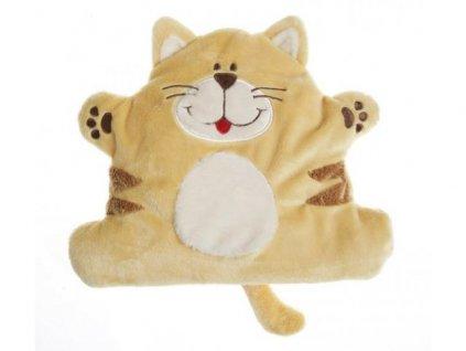 Hřejivý plyšák pro miminka kočička