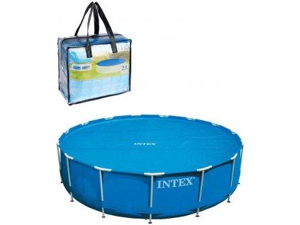 INTEX Plachta solární bazénová Solar 305cm kruhová modrá v tašce