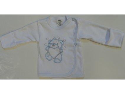 Kojenecká košilka Arex 8763 bílá 2021