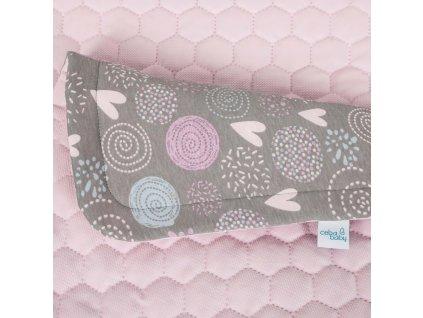 Dětská deka (75x100) + polštářek (30x40) Lolly Polly Love 2020