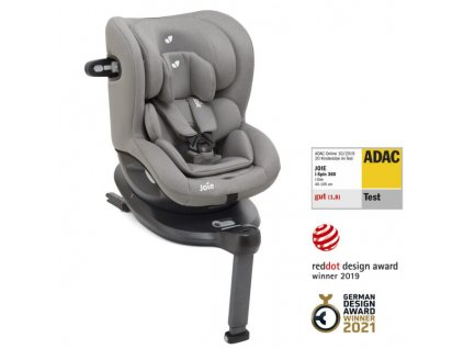 Joie I-Spin 360 grey flannel
