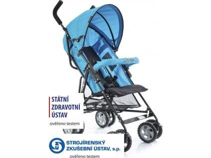 Golfový kočárek Babypoint Junior blue 2020