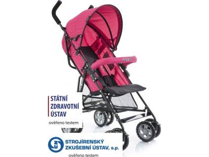 Golfový kočárek Babypoint Junior red 2020