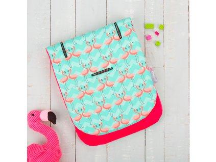 Podložka do kočárku Comfi-Cush, Flamingo