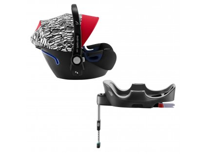 Autosedačka Baby-Safe 2 i-Size Bundle Flex, Letter Design