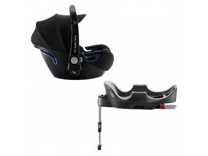 Autosedačka Baby-Safe 2 i-Size Bundle Flex, Cool Flow - Black
