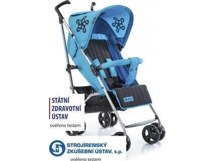 Golfový kočárek Babypoint Polo blue 2020