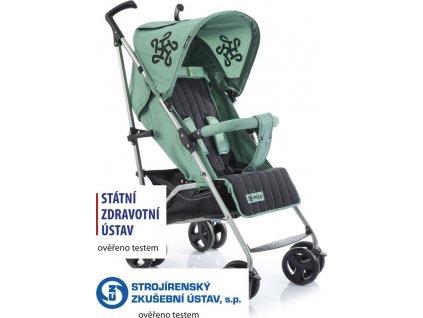 Golfový kočárek Babypoint Polo green 2020