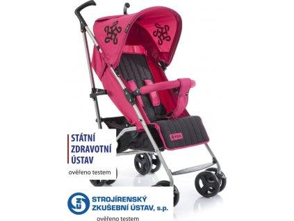 Golfový kočárek Babypoint Polo red 2020