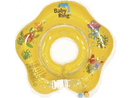 Baby Ring Baby Ring 0-24 měs. žlutá