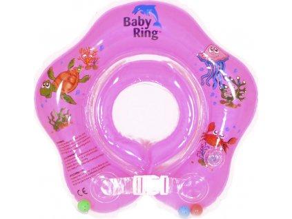 Baby Ring Baby Ring 3-36 měs. růžová