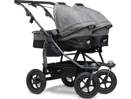 TFK                                                                              Duo combi push chair - air wheel prem. grey